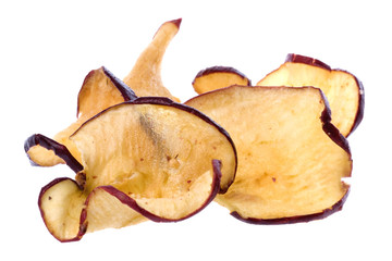Apple Chips Isolated