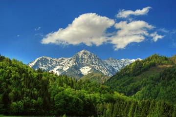Beautiful alpin landscape