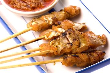 Malaysian Fish Satay