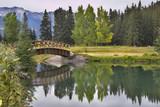 The picturesque bridge. poster