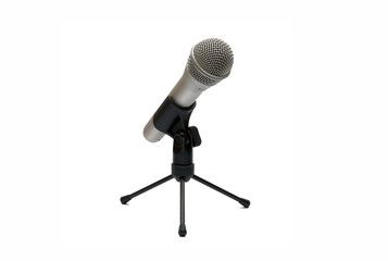 Microphone isolated / Isoliertes Mikrofon