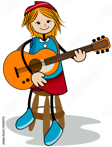 гитара картинки для детей для показа