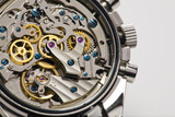 Modern watch detail