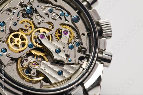 Leinwandbild Motiv Modern watch detail