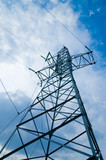 power transmission tower poster