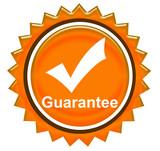 guarantee sign 2 poster