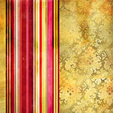 Fototapety vintage wallpaper with decorative stripes