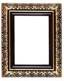 Retro Revival Old Gold Frame poster