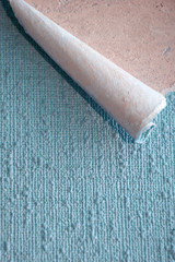 wallpaper with a rolled edge