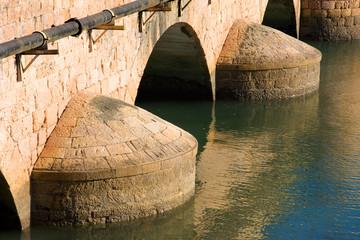 Puente de San Vicente de la Barquera, Cantabria (Spain)