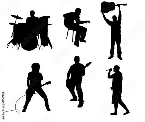 Leinwanddruck Bild music
