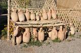 Ceramic Amphoras for sale in Morocco poster