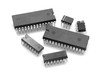 Leinwanddruck Bild - Integrated circuit chip against white background