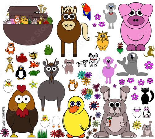 剪贴画动物动物园