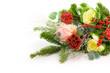 Mazzo fiori rossi particolare
