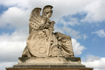 France Victorious - statue in Paris