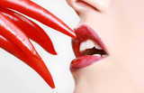 Fototapety Red Pepper with Lips