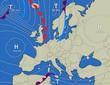Wetterkarte Europa - 11085919