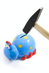 providence money coin saving concept