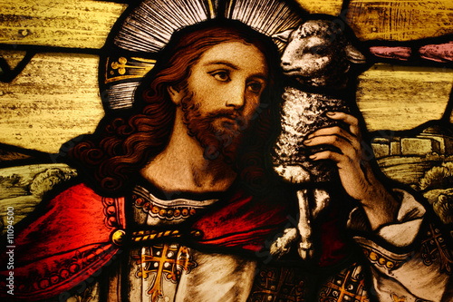 Jesus with Lamb - 11094500