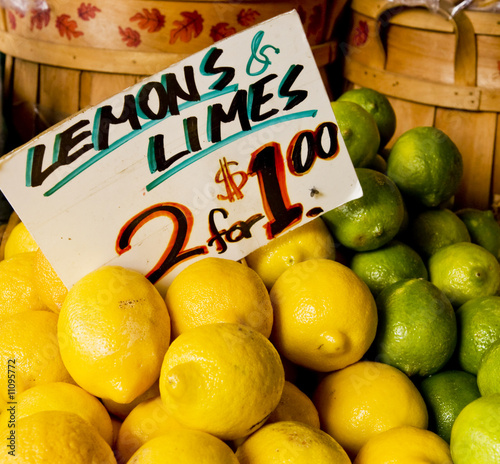 Lemons and Limes Two for One