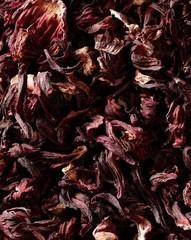 hibiscus dried petals, Jamaica flowers, tea