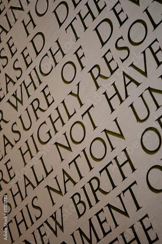 Poster Lincoln Memorial