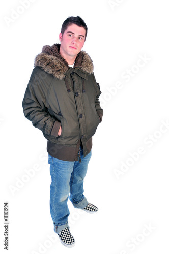 man in a winter coat