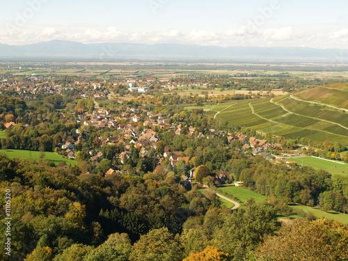 Leinwandbild Motiv Müllheim/Baden
