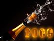 champagne bottle eruption 2009