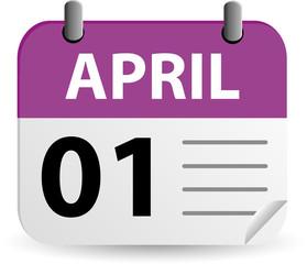Calendar - April Fools Day