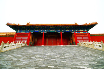 The historical Forbidden City Museum in Beijing