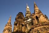 Sukhothai Historical Park - Chedi Spires poster