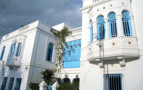 façade d'habitation en tunisie