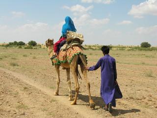 Camel Trekking, Rajasthan