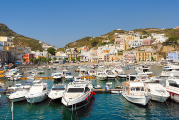 Italy ponza island