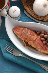 Triglie ai fagioli - Secondi di pesce Emilia Romagna