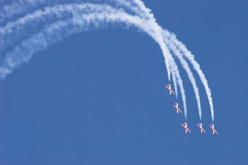 """Flying Stars"" Serbian aerobatics team"