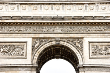 Detail of Arc de Triomphe