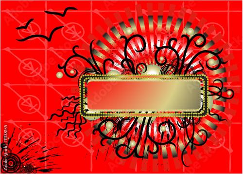 Leinwandbild Motiv Abstrakter Hintergrund