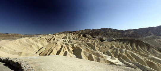 Zabriskie point - Panorama view
