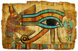 Quadro ancient egyptian papyrus