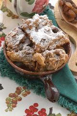 Frittelle di castagnaccio - Fitloz - Dolci di carnevale Emilia R