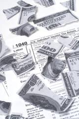 Tax Destroys Money
