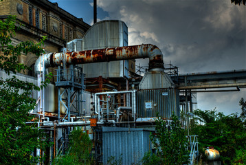 Power Plant Against Sky