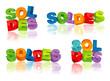 SOLDES (vecteurs effets 3D)