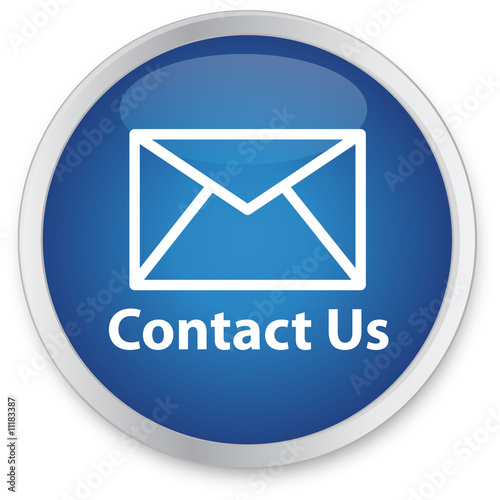 canvas print picture Contact Us Button