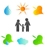 family and environment poster