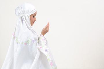 Young Woman Praying