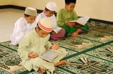 Islam, Children Reading Qur'an